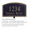 Salsbury 1420BGNL Signature Series Address Plaque