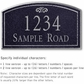 Salsbury 1420BSFS Signature Series Address Plaque