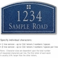 Salsbury 1420CSGS Signature Series Address Plaque