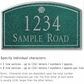 Salsbury 1420JSSS Signature Series Address Plaque
