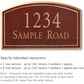 Salsbury 1420MGNS Signature Series Address Plaque
