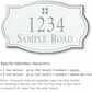 Salsbury 1442WSGS Signature Series Address Plaque