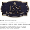 Salsbury 1441BGSS Signature Series Address Plaque