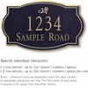 Salsbury 1440BGDS Signature Series Address Plaque