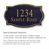 Salsbury 1440BGNS Signature Series Address Plaque