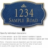 Salsbury 1440CGIL Signature Series Address Plaque