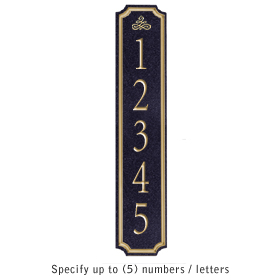 Salsbury 1470BGIS Signature Series Address Plaque