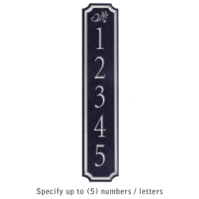 Salsbury 1470BSDS Signature Series Address Plaque