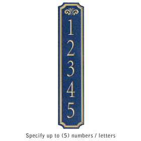 Salsbury 1470CGFS Signature Series Address Plaque