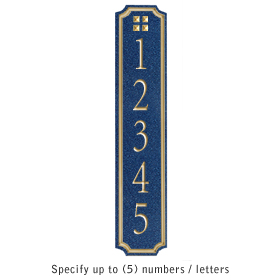 Salsbury 1470CGGS Signature Series Address Plaque