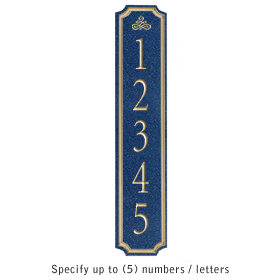 Salsbury 1470CGIS Signature Series Address Plaque