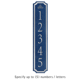 Salsbury 1470CSIS Signature Series Address Plaque