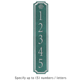 Salsbury 1470JSSS Signature Series Address Plaque