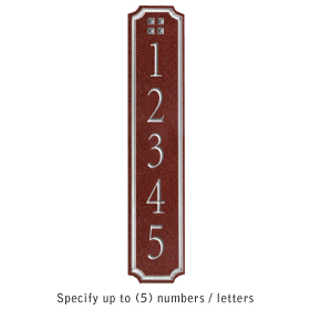 Salsbury 1470MSGS Signature Series Address Plaque