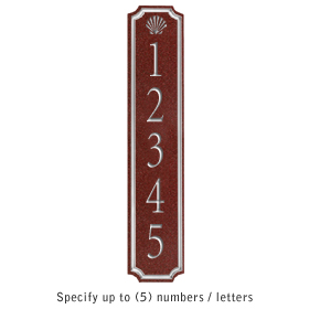 Salsbury 1470MSSS Signature Series Address Plaque