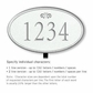 Salsbury 1432WSFL Signature Series Address Plaque