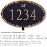 Signature Series Plaques - Oval Medium