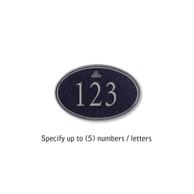 Salsbury 1439BSIS Signature Series Address Plaque