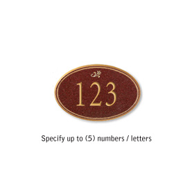 Salsbury 1439MGDS Signature Series Address Plaque