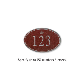 Salsbury 1439MSIS Signature Series Address Plaque
