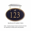 Salsbury 1435BGDH Signature Series Address Plaque