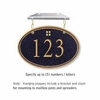 Salsbury 1435BGGH Signature Series Address Plaque