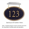 Salsbury 1435BGNH Signature Series Address Plaque