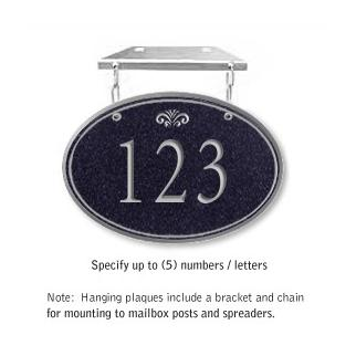 Salsbury 1435BSFH Signature Series Address Plaque