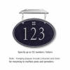 Salsbury 1435BSGH Signature Series Address Plaque
