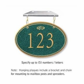 Salsbury 1435JGFH Signature Series Address Plaque