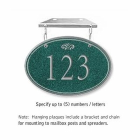 Salsbury 1435JSFH Signature Series Address Plaque
