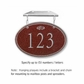 Salsbury 1435MSFH Signature Series Address Plaque