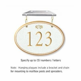 Salsbury 1435WGFH Signature Series Address Plaque