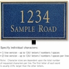 Salsbury 1412CGNL Signature Series Address Plaque