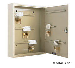 Two Tag Key Cabinet - 120 Key Capacity