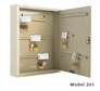 Single Tag Key Cabinet - 240 Key Capacity