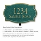 Salsbury 1440JGNL Signature Series Address Plaque