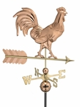 Smithsonian Rooster - Polished Weathervane