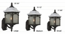 Sonoma Medium Post Mount Lighting Fixture