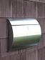 Spira Stainless Steel Unique Wall Mount Mailbox