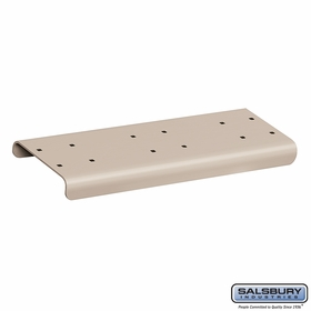 Salsbury 4882BGE Spreader 2 Wide For Rural Mailbox Beige