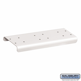 Salsbury 4882WHT Spreader 2 Wide For Rural Mailbox White