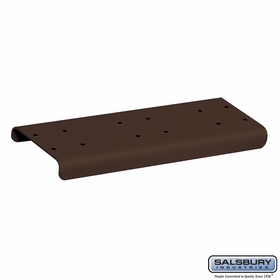 Salsbury 4882BRZ Spreader 2 Wide For Rural Mailbox Bronze