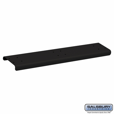Salsbury 4883BLK Spreader 3 Wide For Rural Mailbox Black