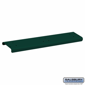Salsbury 4883GRN Spreader 3 Wide For Rural Mailbox Green