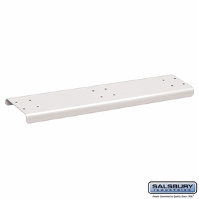 Salsbury 4883WHT Spreader 3 Wide For Rural Mailbox White