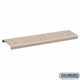 Salsbury 4883BGE Spreader 3 Wide For Rural Mailbox Beige