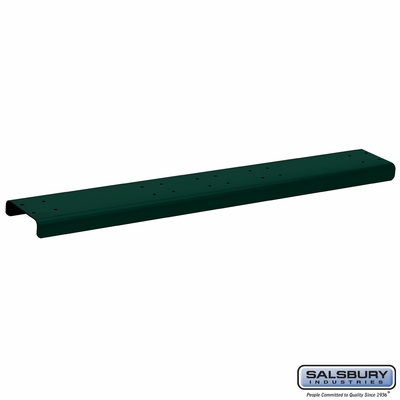 Salsbury 4884GRN Spreader 4 Wide For Rural Mailbox Green