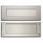 European Home Stainless Steel & Brass Mail Slots