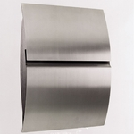 European Home Stainless Steel Wall Mount Mailboxes